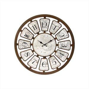 Часы LINENS Plaka Harita Duvar