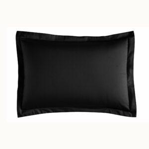 Набор наволочек Linens Basic Siyah с воланами