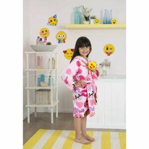 Халат детский TАС Emoji (6-8 лет)