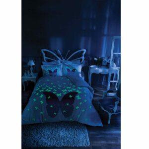 Постельное белье TAC Glow in the Dark lila